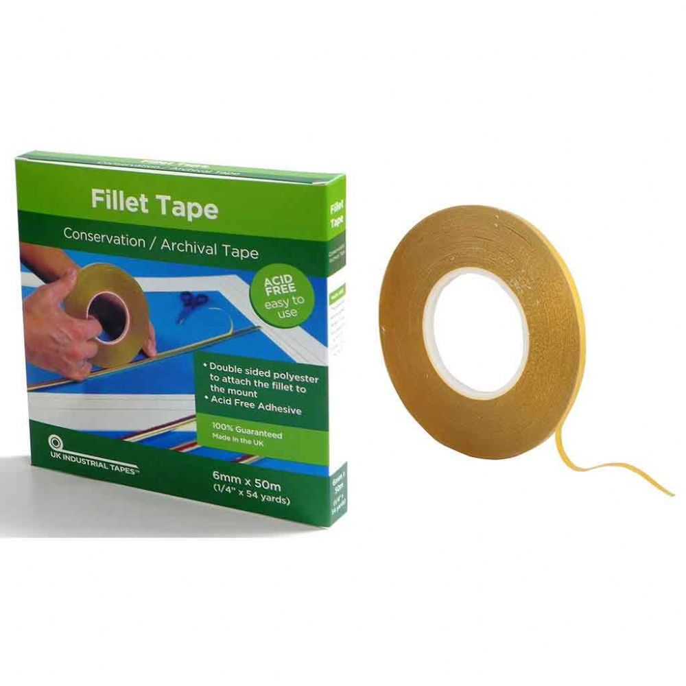 Fillet Tape Double Sided - 6mm x 50m